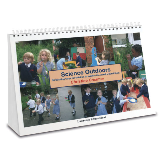 50 hands-on science activities for early years. Wiro bound practitioner's book.