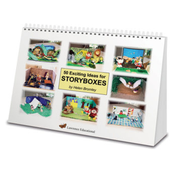 50 small world play ideas for storyboxes. A4 wiro bound practitioner's book.