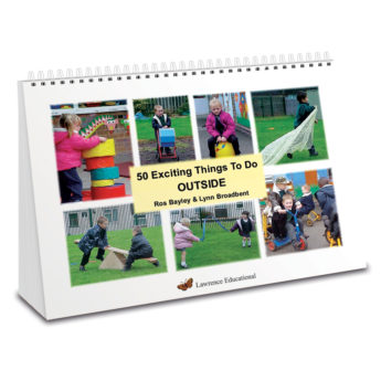 50 Exciting Things to do Outside - A4 wiro bound practitioner's book.