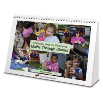 Maths through Stories by Helen Bromley. For early years. A4 wiro bound practitioner's book