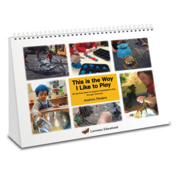 This is the Way I Like to Play - 50 activities to support heuristic play. A4 wiro bound book