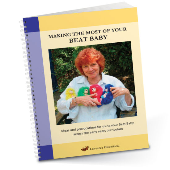 Making the Most of your Beat Baby - Practitioners book of 40 early years rhythm and rhyme ideas.