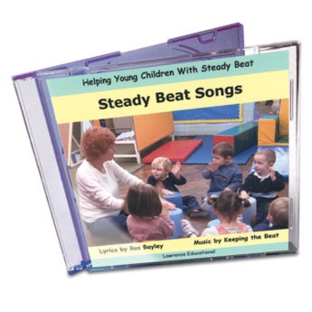 Steady Beat Songs Audio CD - Ros Bayley's popular raps