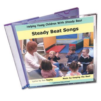 Steady Beat Songs Audio CD - Ros Bayley's popular raps