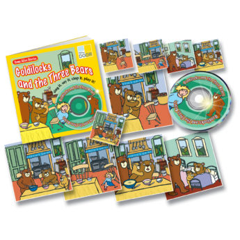 Goldilocks and the Three Bears Resource Pack with practitioner's book, story cards and audio CD