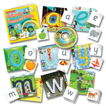 Come Alive Phonics Sing and Play Pack is full of letters and sounds. Includes many teaching materials and a practitioner's book.