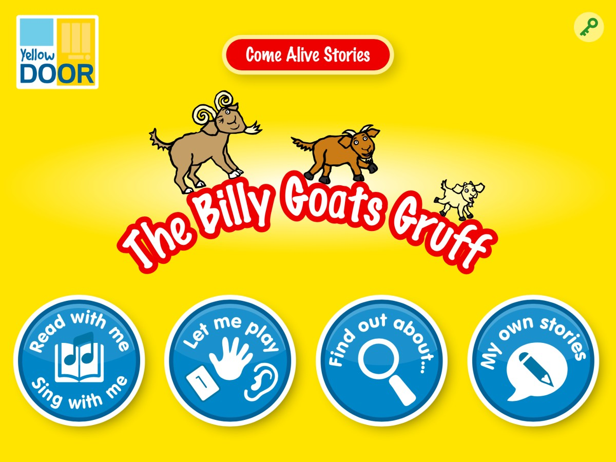 The Billy Goats Gruff Interactive Story App