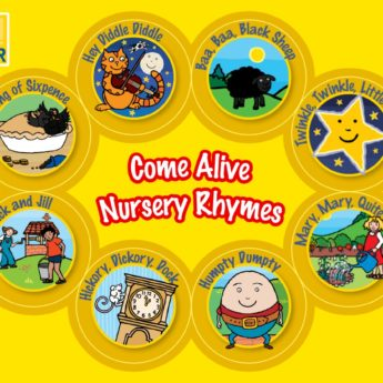 Come Alive Nursery Rhymes App & Come Alive Nursery Rhyme App - animated stories and games