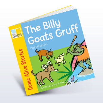 Billy Goats Gruff Story Book