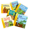 Traditional Tales Books - six popular illustrated stories
