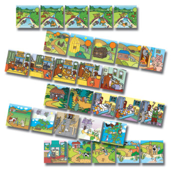 Traditional tales picture sequencing cards