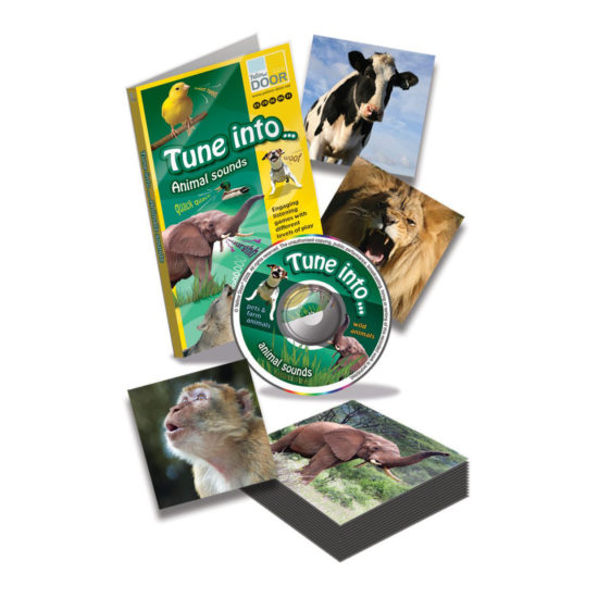 Tune into… Animal Sounds - real pet and wild animal sounds on audio CD to match to photos.