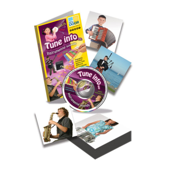 Tune into… Instrumental Sounds - 30 classroom and less familiar instruments on audio CD