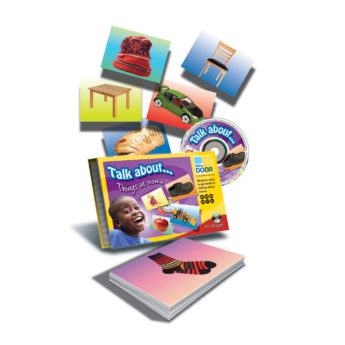 Talk About… Things at Home - 40 cards and CD