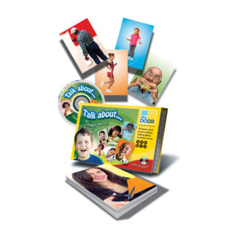 Talk about… Things we Do -30 language photo cards showing verbs