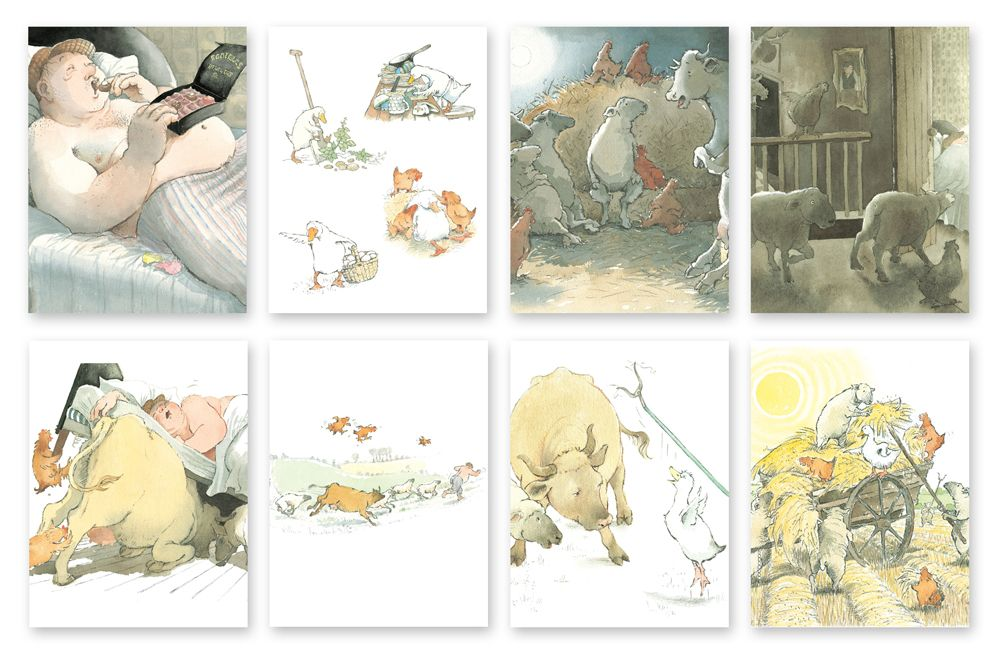 Farmer Duck - Story Talk Sequencing Cards