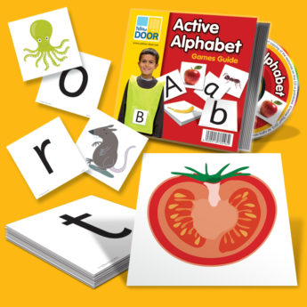 Active Alphabet Kit -Letter Learning Teaching Resources for Early Years and KS1