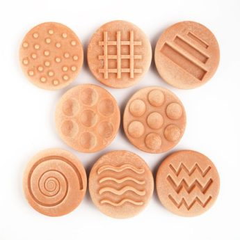 Sensory Stones - 8 tactile stones (75mm)