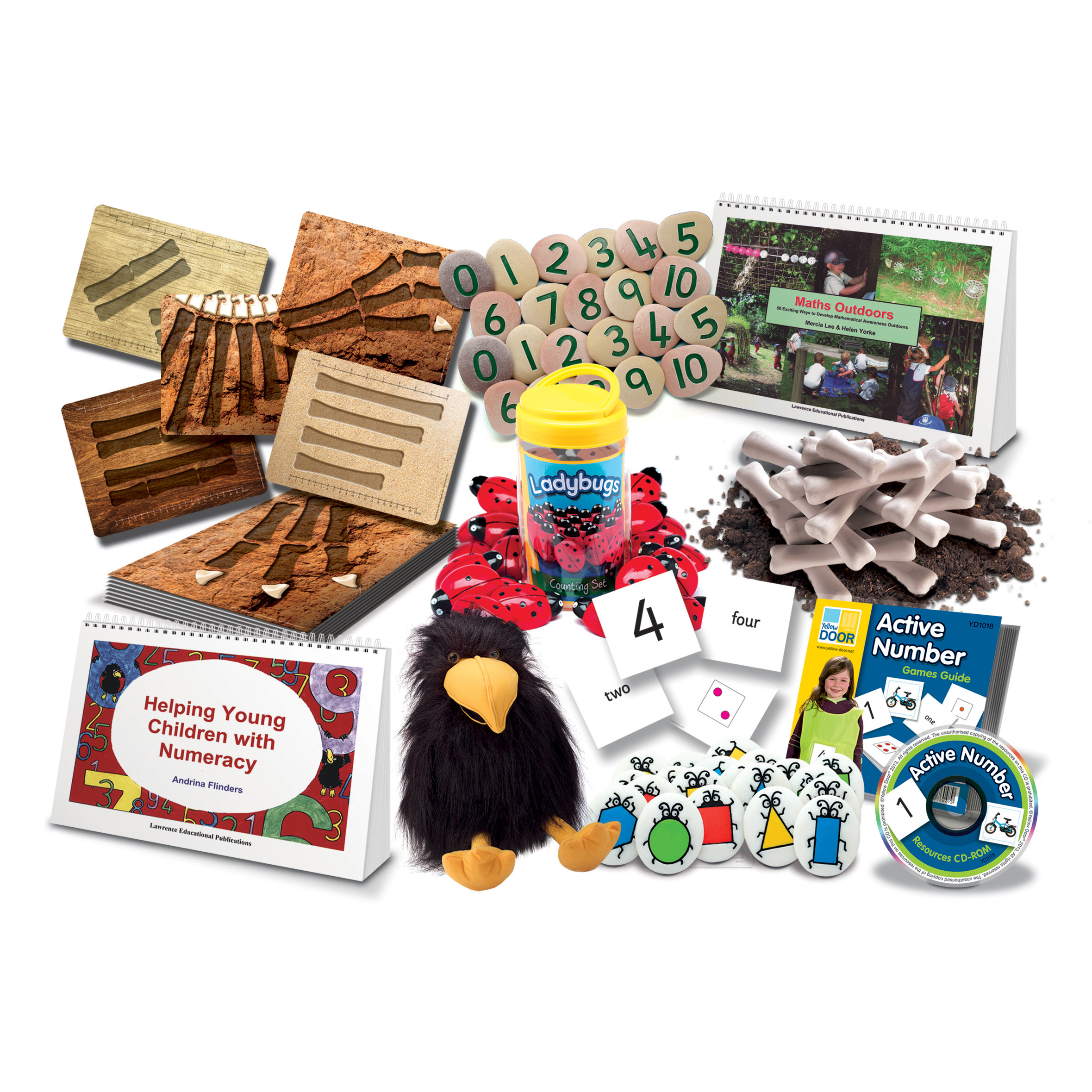 Early Maths Progress Pack - multisensory resource collection