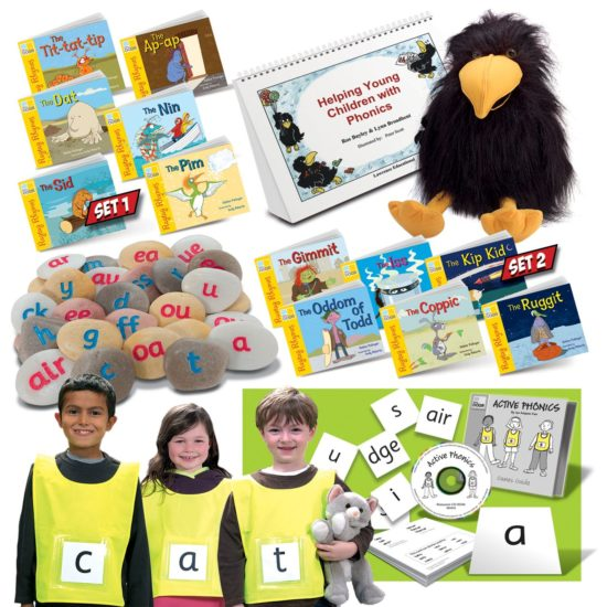 Phonics kit to help develop children's core language skills of phonics, reading and writing