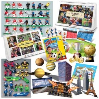 Boys multi-resource kit to support and stimulate boys as they engage with learning.