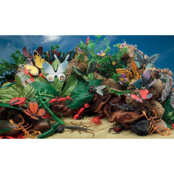 Minibeast Scene Kit for KS1 and early years children