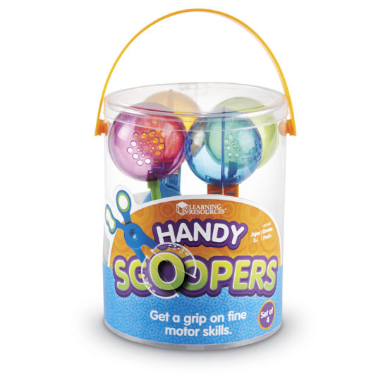 Handy Scoopers help to develop pre-scissor skills. Made for little hands (15cm)