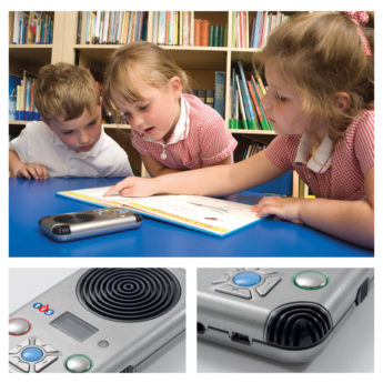 Compact voice recorder ideal for assessment and evidencing