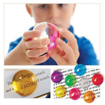 Versatile sensory resource of eight coloured light semispheres