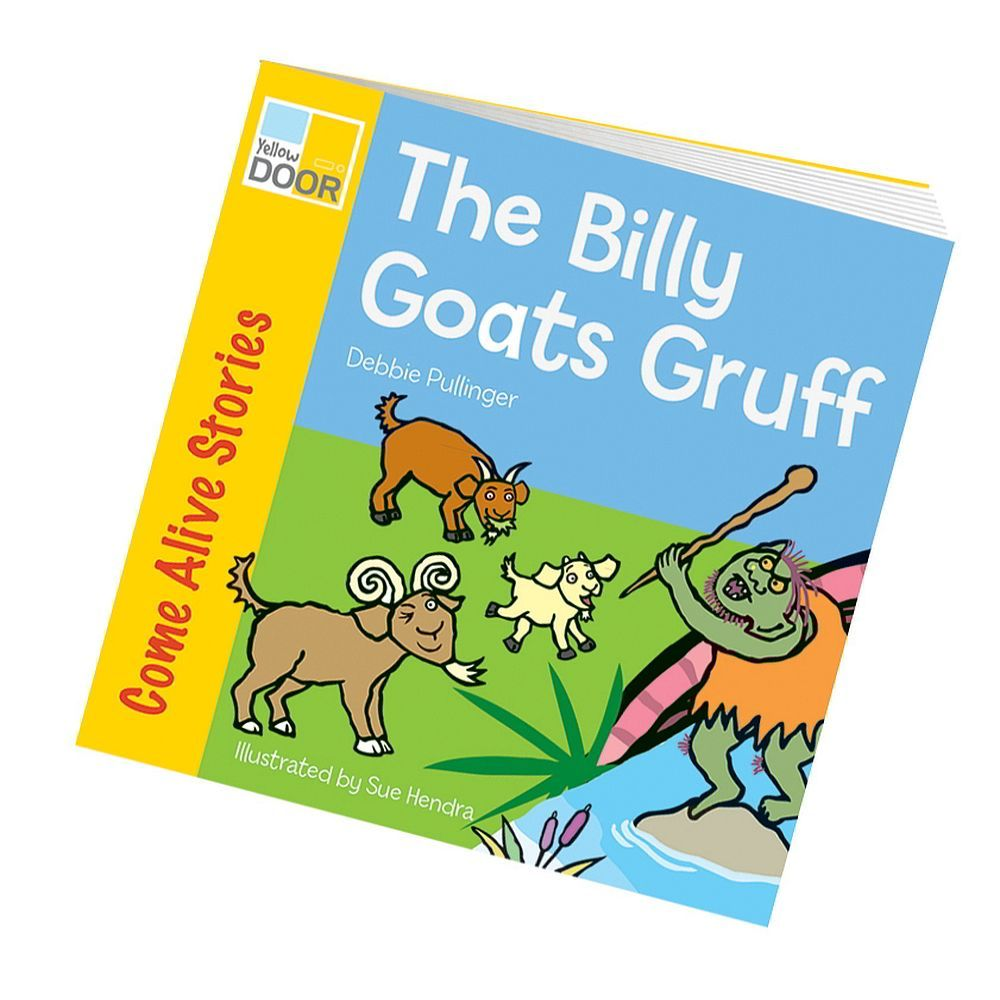 billy goats gruff story book class readers and big book