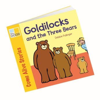 Illustrated Goldilocks and the Three Bears  picture book and big book option