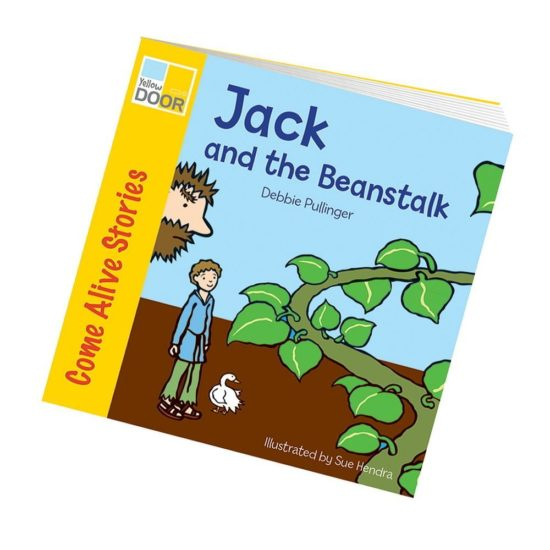 Illustrated Jack and the Beanstalk class pack of books plus big book.