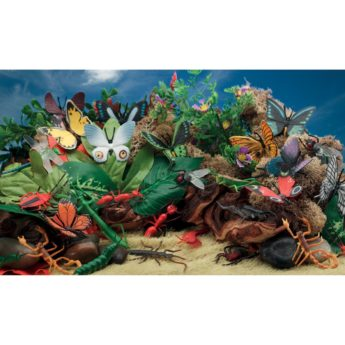 Butterfly and Insect Minibeast Scene Kit for KS1 and early years