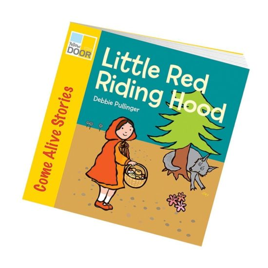 Illustrated Red Riding Hood picture book and big book