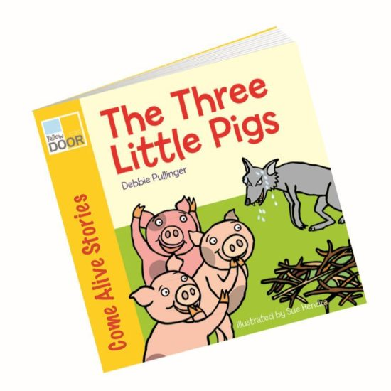 Illustrated Three Little Pigs  - picture book and big book