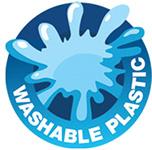 Washable Plastic