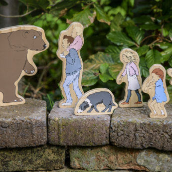 We're Going on a Bear Hunt Wooden Characters