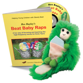 Beat Baby Raps on audo CD and Beat Baby. High frequency word raps.