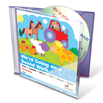 Ros Bayley's listening walk and environmental sounds audio CD (30 mins).