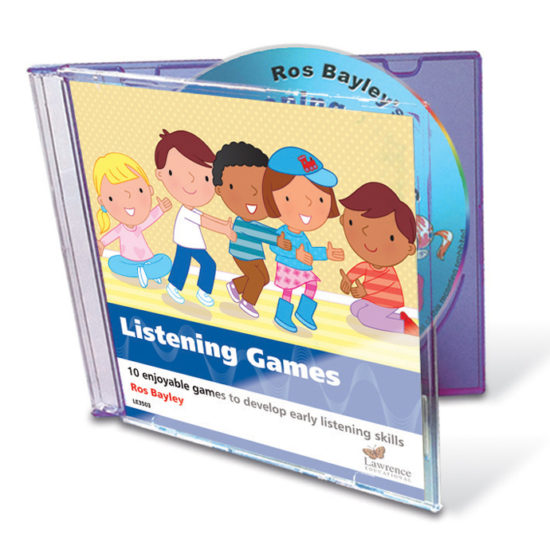 Listening Games CD - 10 engaging audio activities by Ros Bayley