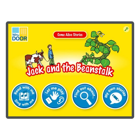 Jack and the Beanstalk Interactive Story and games app