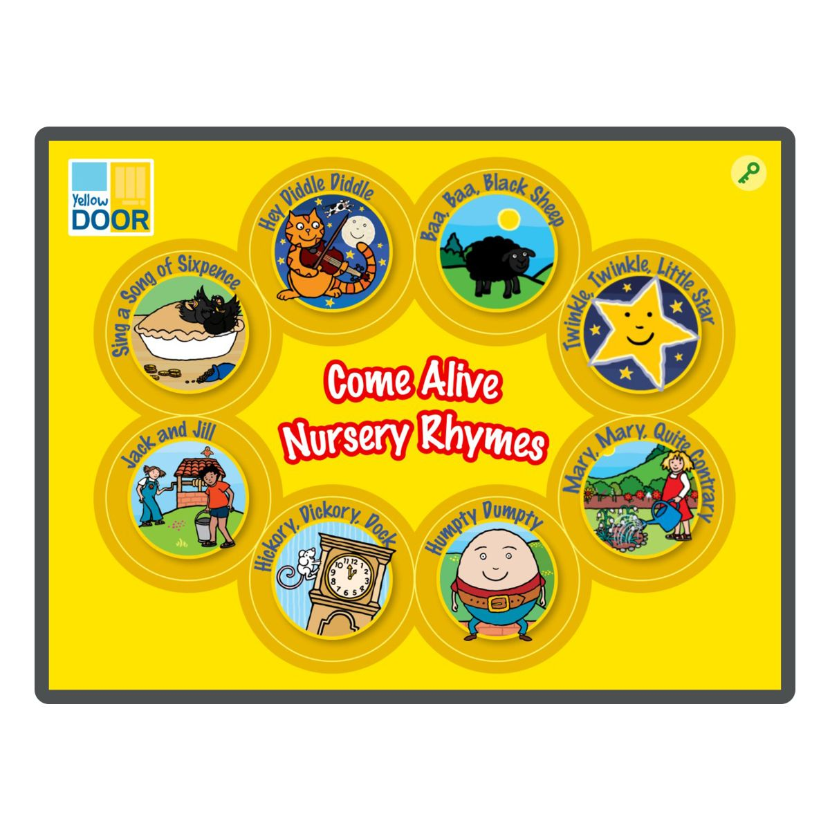 Come Alive Nursery Rhyme App - animated stories and games