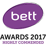 Bett Awards 2017 Highly Commended