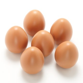 6 tactile eggs - durable for use outdoors, in mud kitchens and role-play areas