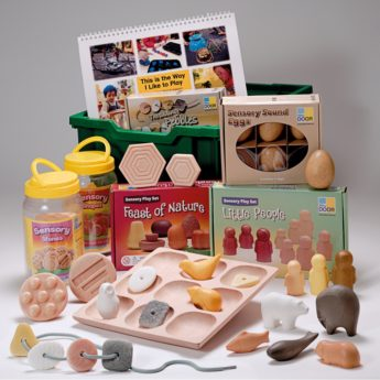 Early years sensory play resources for child and practitioner
