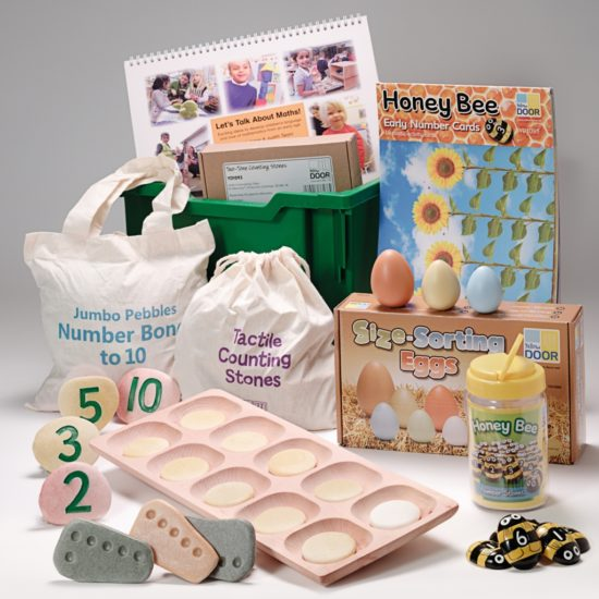Tactile early years resources introducing early maths and number concepts