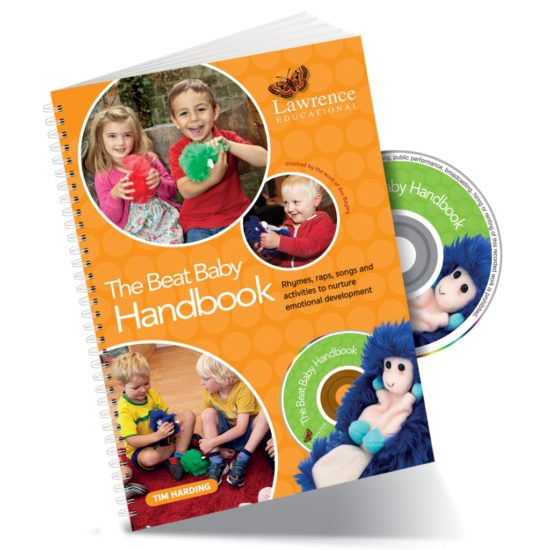 Book and CD featuring rhymes, songs and activities for emotional wellbeing