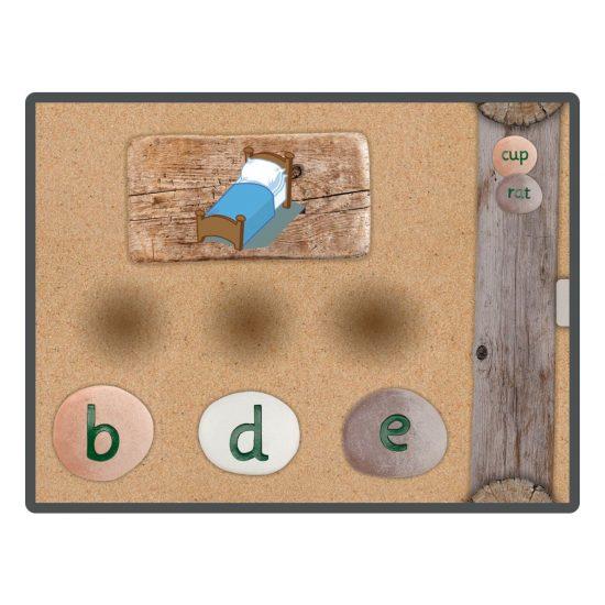 CVC Word Builder App