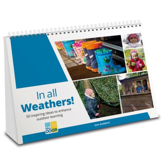 Spiral-bound handbook with innovative ideas for outdoor learning