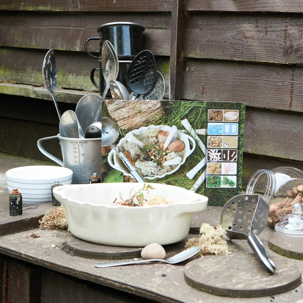 Mud Kitchen Ideas Eyfs.Mud Kitchen Activities 16 Exciting Mud Recipe Cards